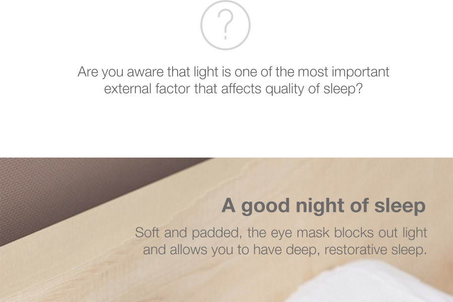 Basic Travel Eye Mask
