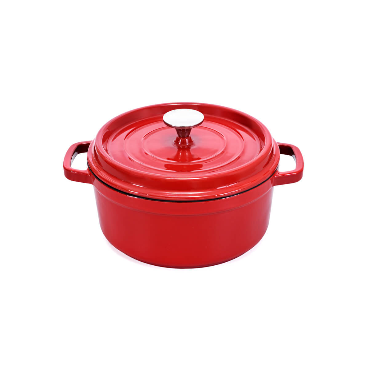 Cast Iron French Casserole Pan alat masak
