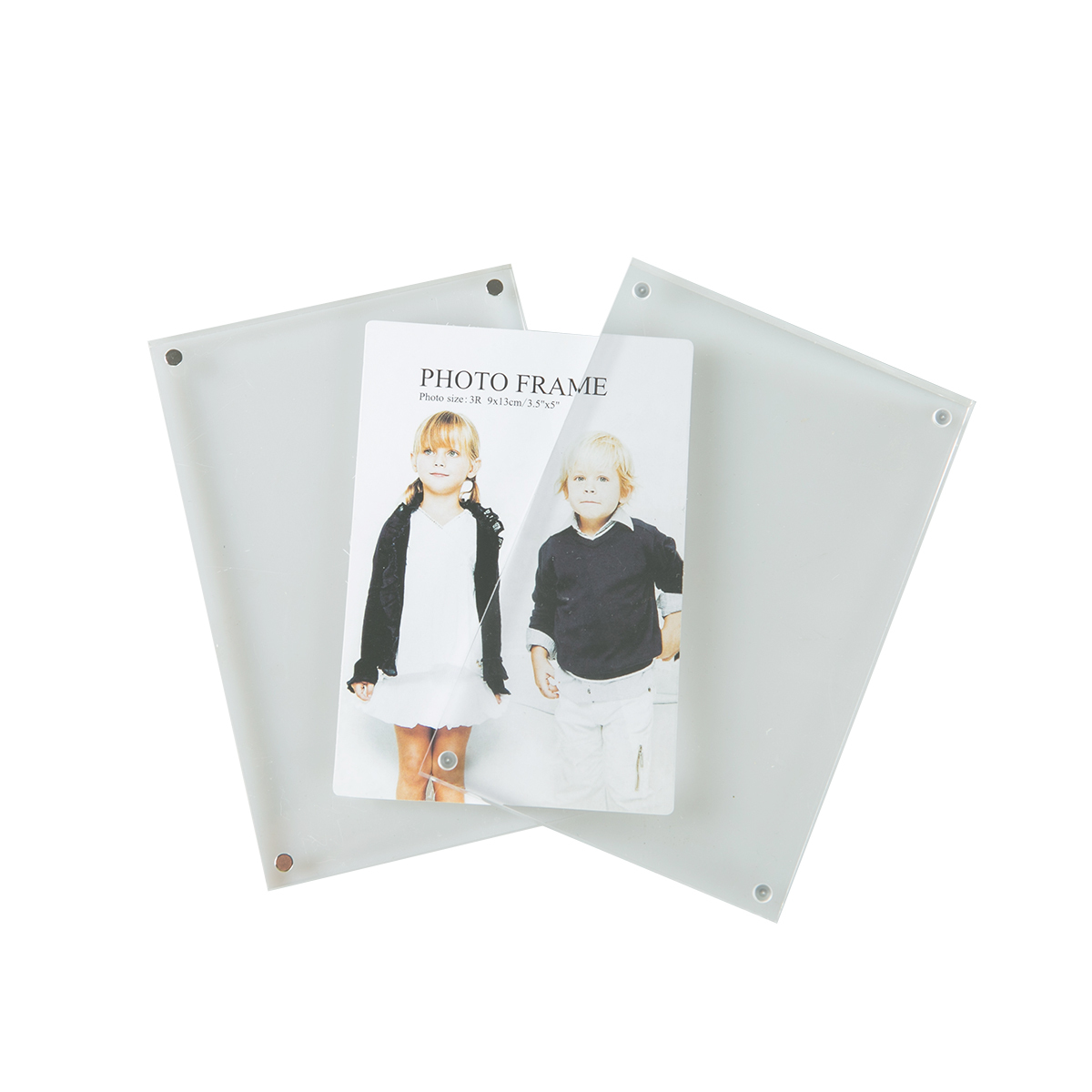 Luxe Acrylic Magnetic Photo Frame 6-inch