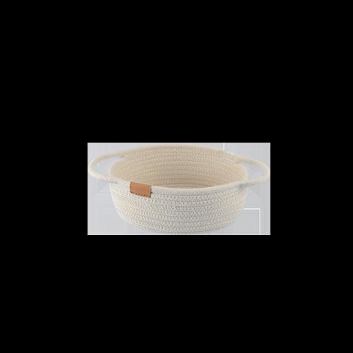 Cotton Woven Storage Basket (S)