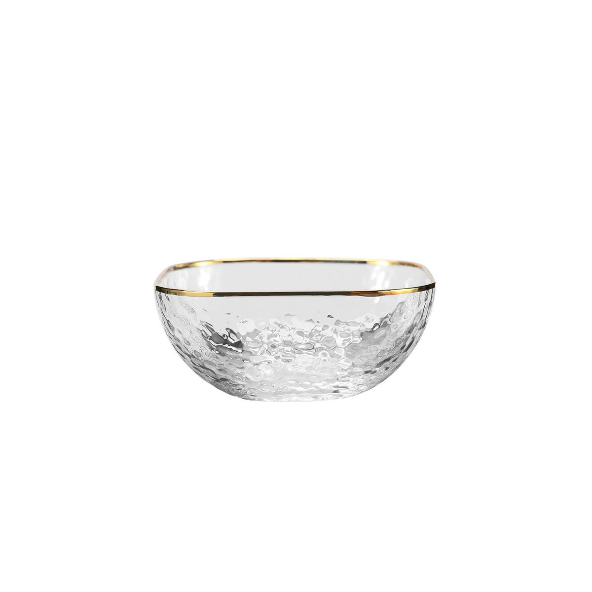 Crystal Glacier Square Bowl