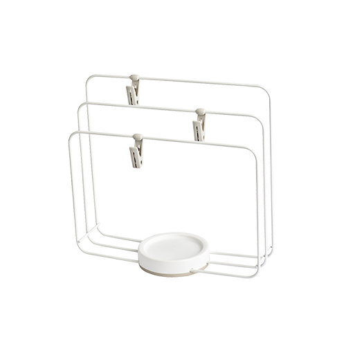 Minimalist Kitchen Cloth Holder