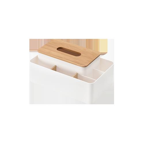 Multifunctional Wooden Tissue Box