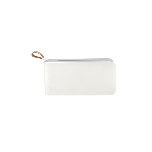 PP Tissue Box With Silicone Handle