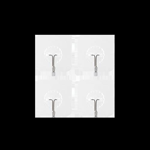 Adhesive Wall Hook (4 pcs)